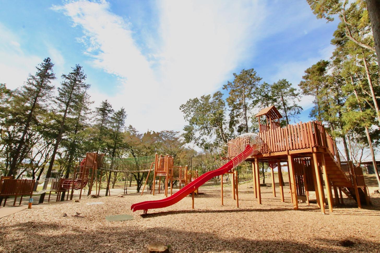 南町田グランベリーパーク 鶴間公園  森のあそびば