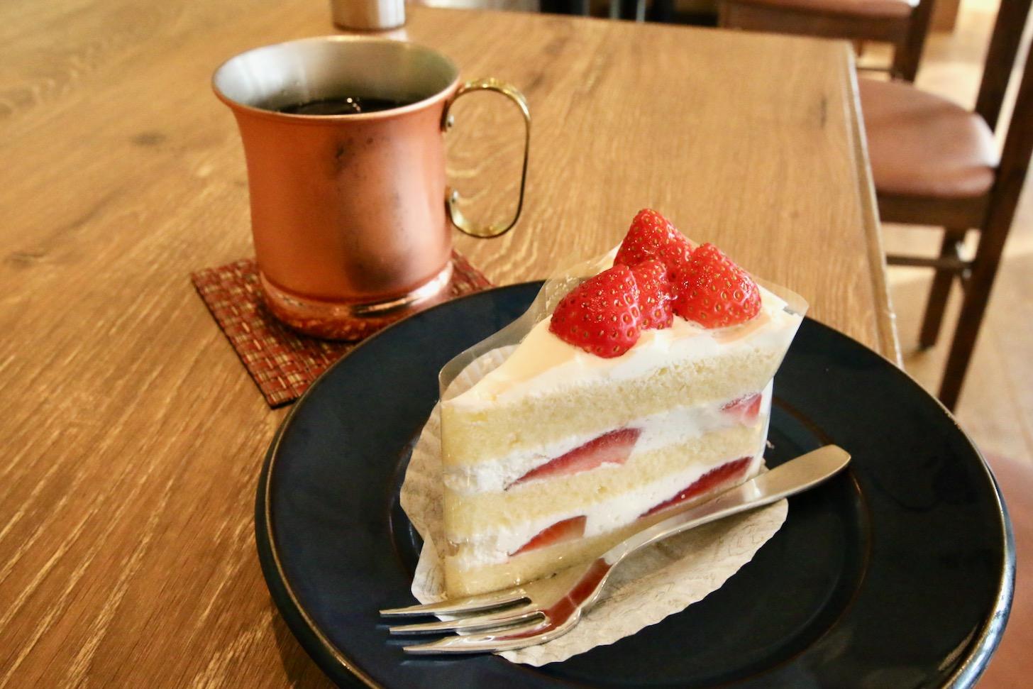 ジロー珈琲 南町田グランベリーパーク店 ケーキセット