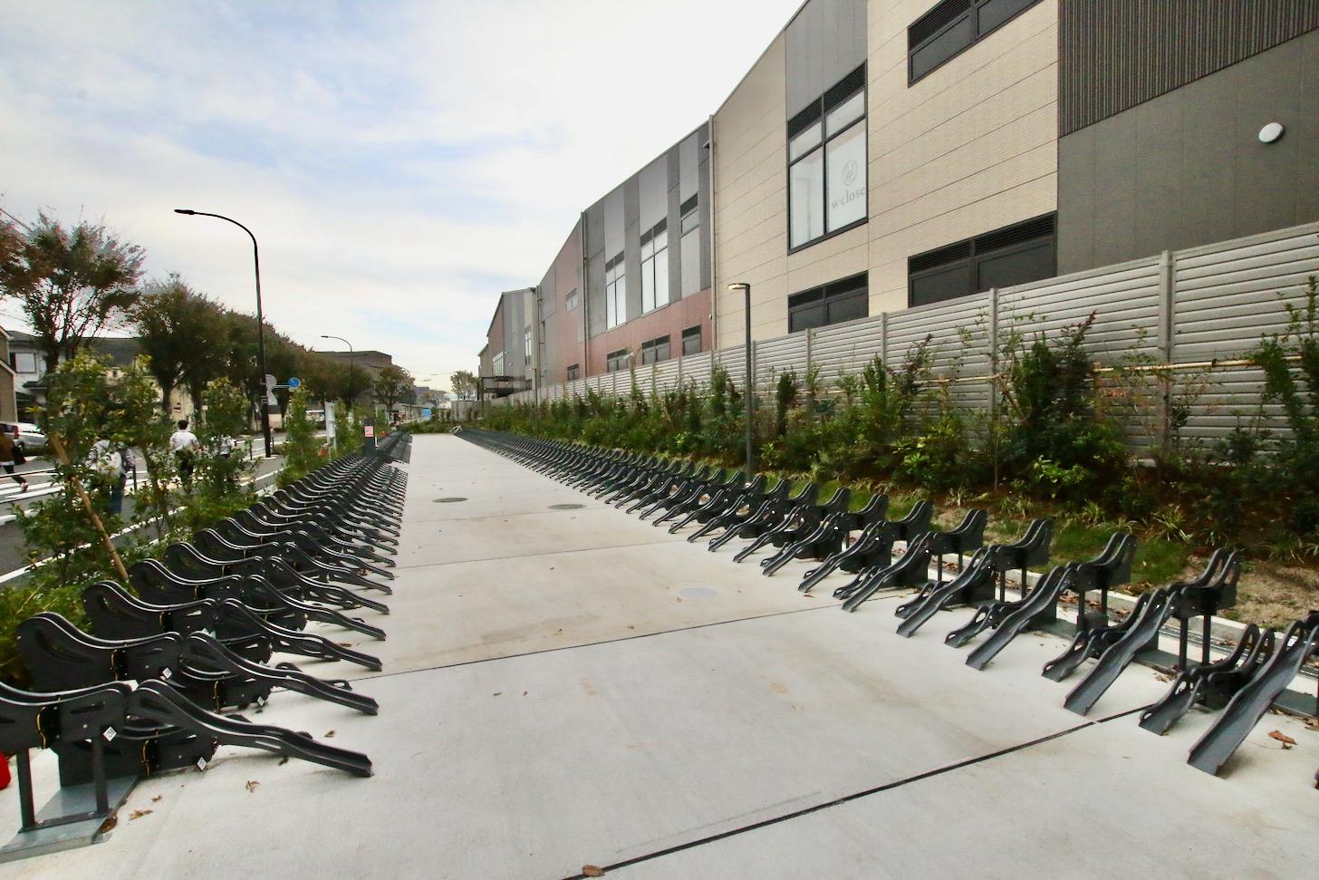 グランベリーパークの第5駐輪場(セントラルコート)
