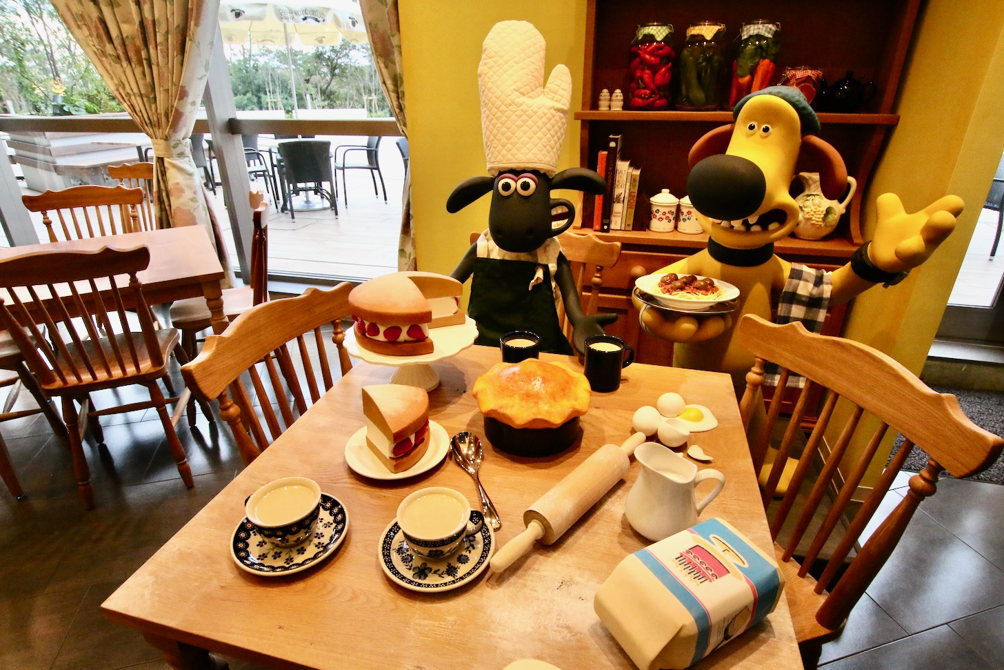 ひつじのショーンビレッジショップ&カフェ