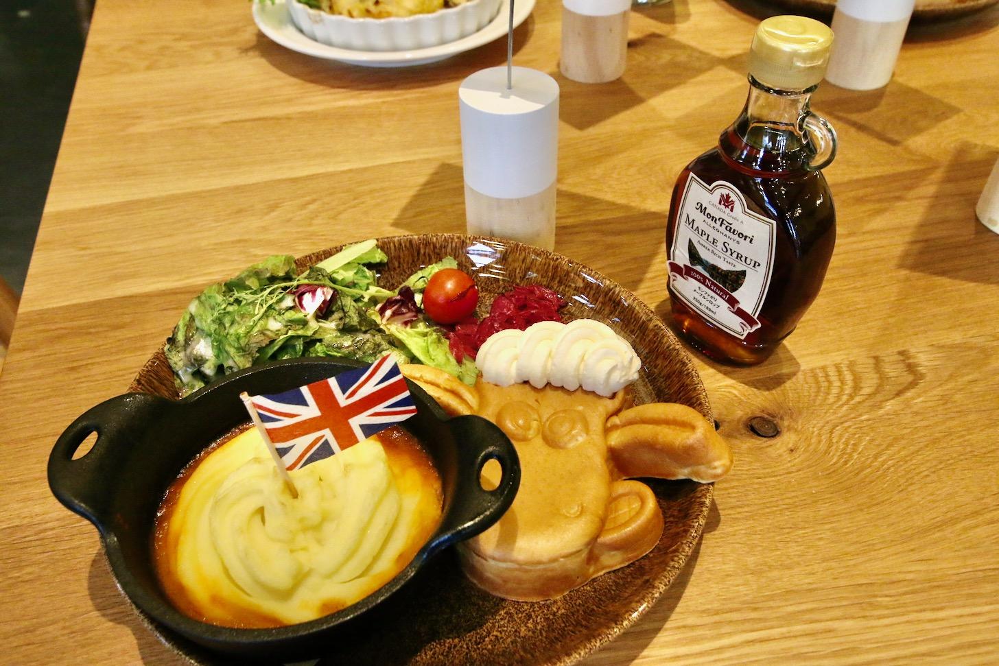 ひつじのショーンビレッジショップ&カフェ ショーンのイギリスプレート