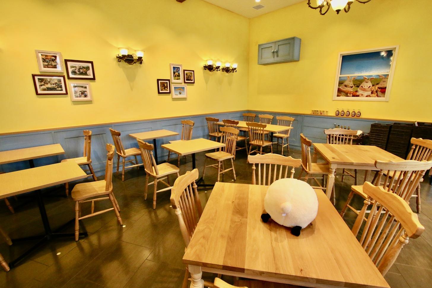 ひつじのショーンビレッジショップ&カフェ 店内