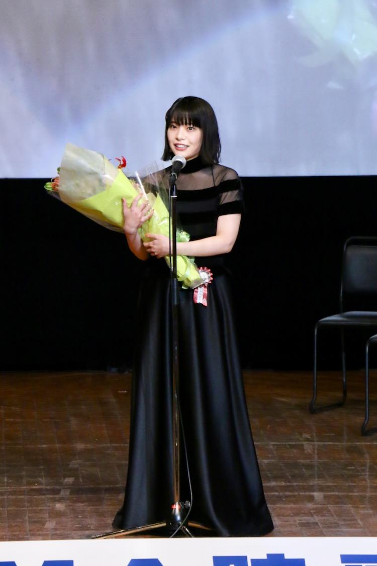岸井ゆきの 第11回TAMA映画賞授賞式(C)多摩ポン