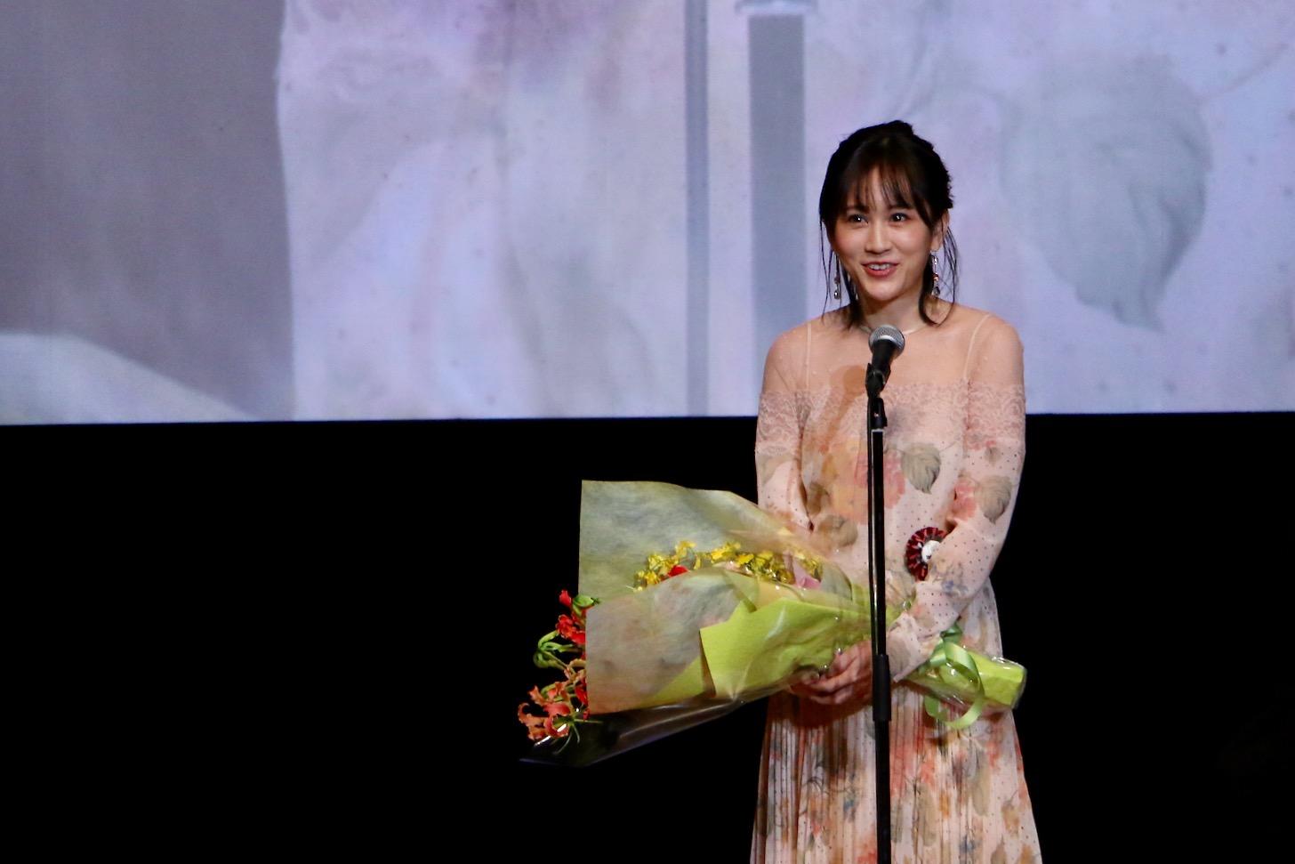 前田敦子さん 第11回TAMA映画賞授賞式(C)多摩ポン
