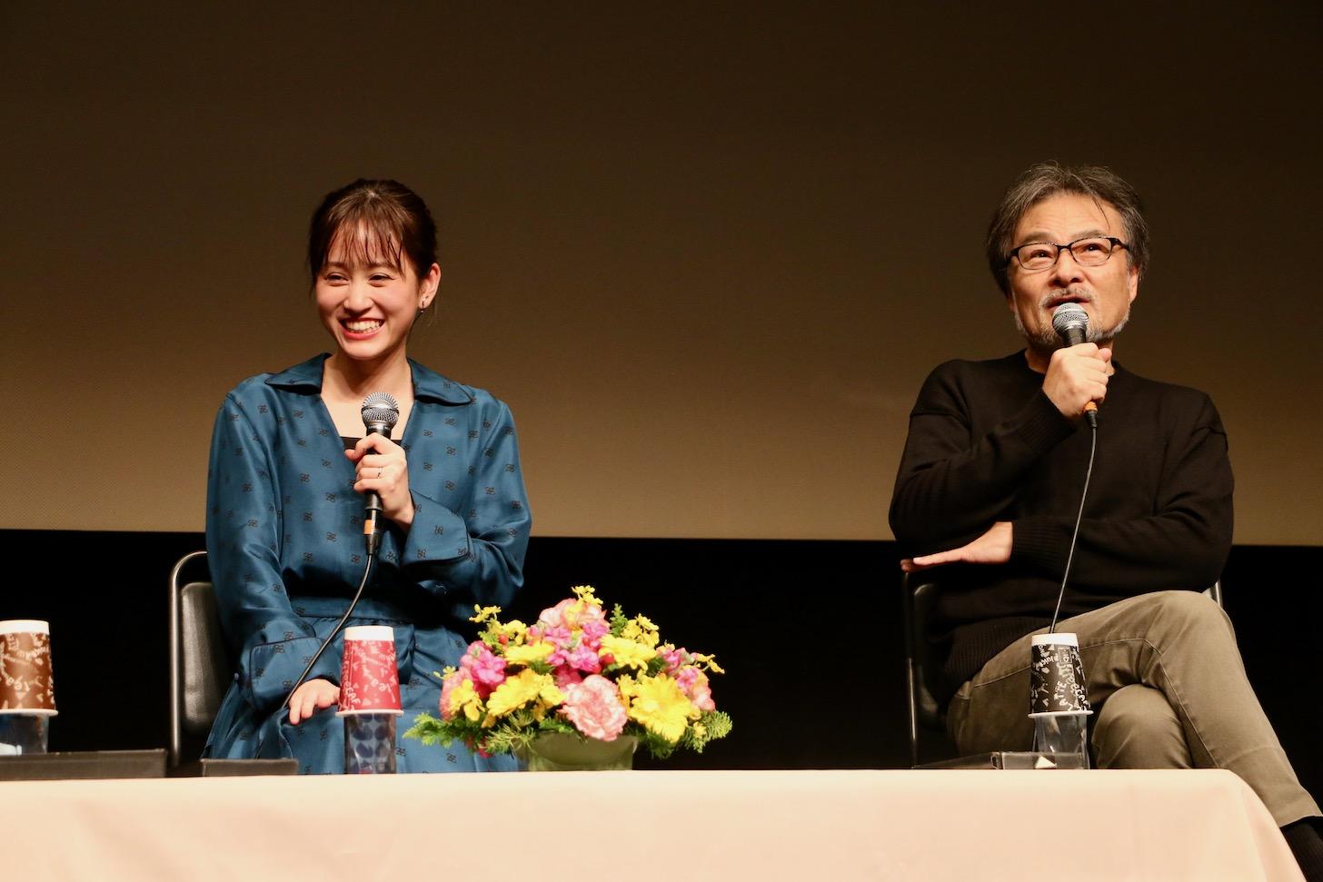 前田敦子さんと黒沢清監督 第29回映画祭TAMA CINEMA FORUM