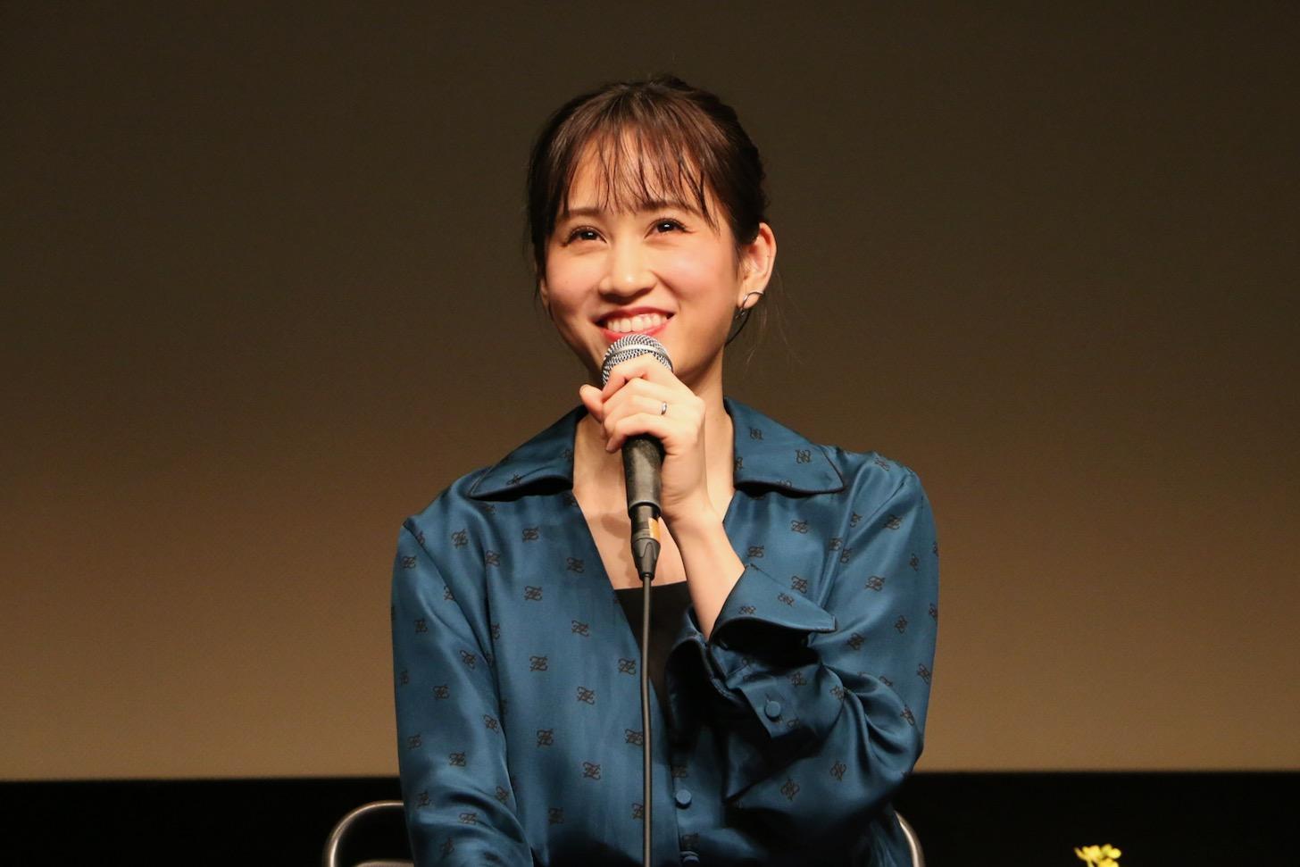 前田敦子さん 第29回映画祭TAMA CINEMA FORUM