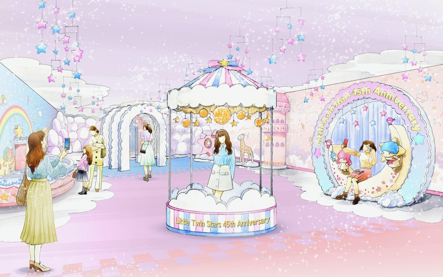 ゆめかわいい世界へ大変身をする~キキ&ララ~トゥインクリングツアー(イメージ)
