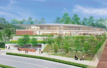 多摩市立図書館 外観