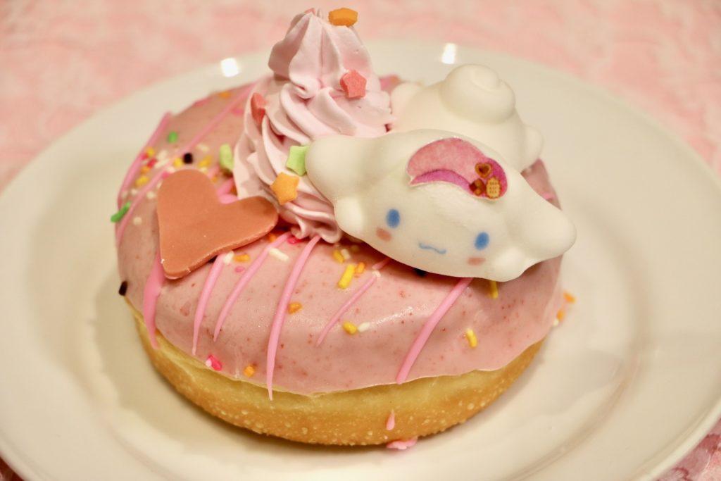 シナモンのピンクベリードーナツ