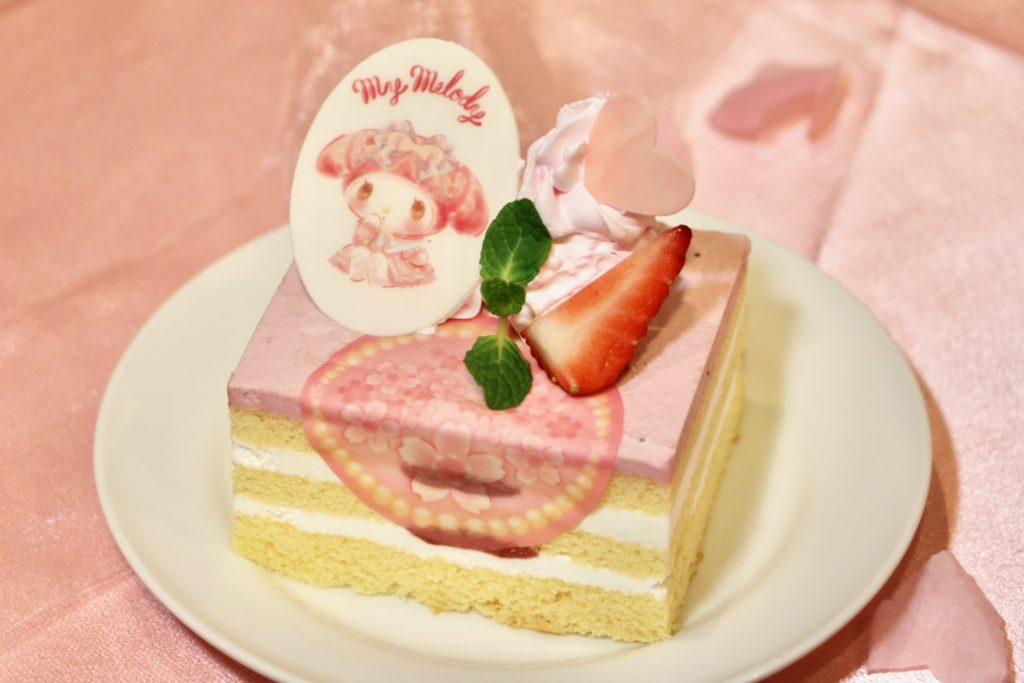 マイメロディのアニバーサリーケーキ