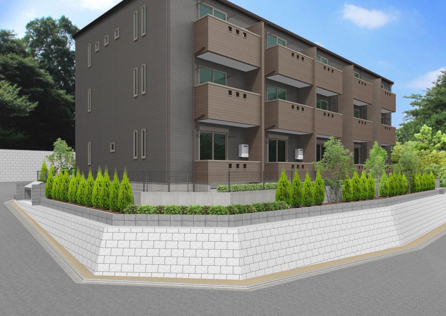 新デザイナーズアパートメントの名称は「Maison en bois(メゾンボワ)」