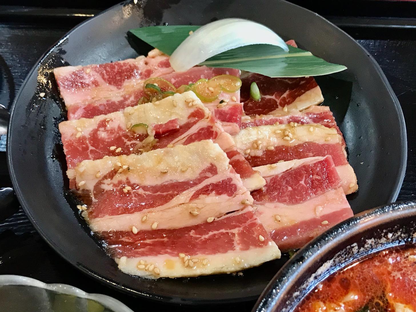 ファミリーカルビSPランチ カルビ肉