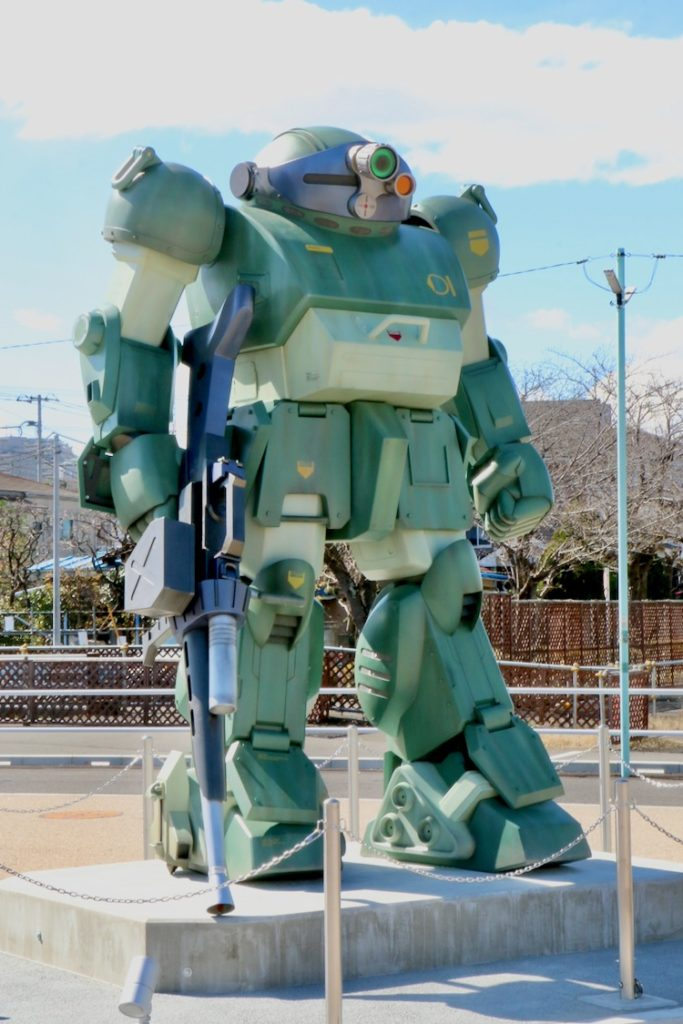 装甲騎兵ボトムズ「スコープドッグ」等身大モニュメント