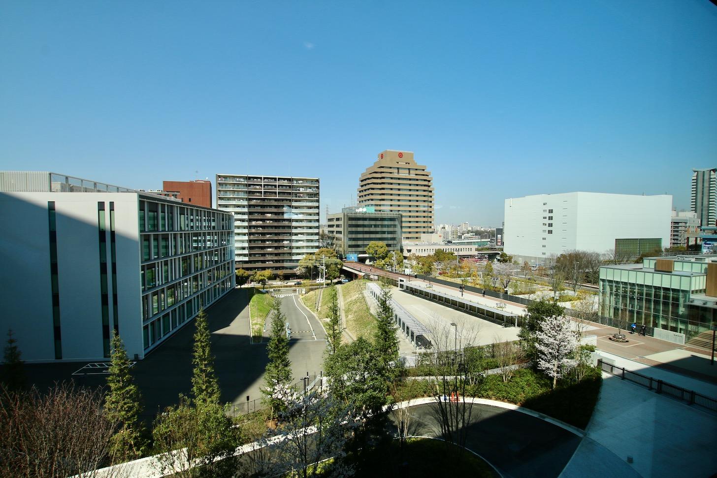 LINK FOREST3階 研修室 ロビーからの眺め