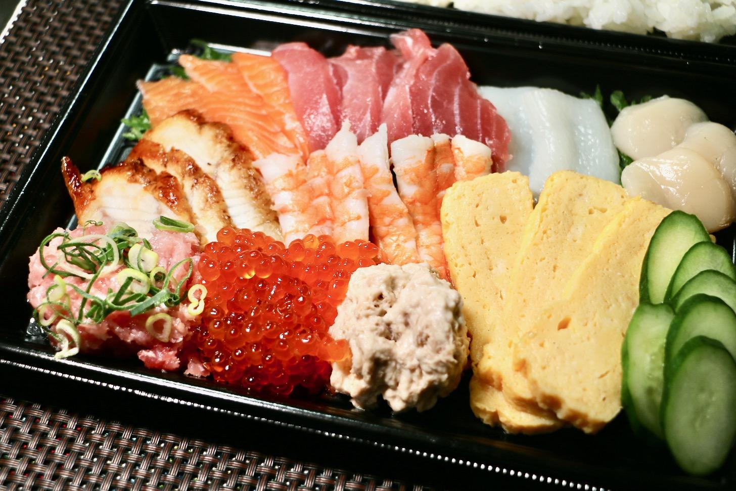 スシローで手巻き寿司セット