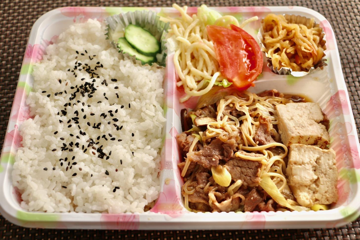 レストラン神谷の「近江牛 すき焼き弁当」をテイクアウト