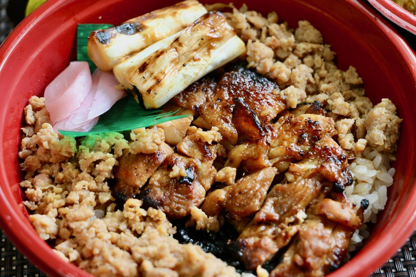 銘鶏やき鳥 鳥仙 多摩落合店の焼鳥丼