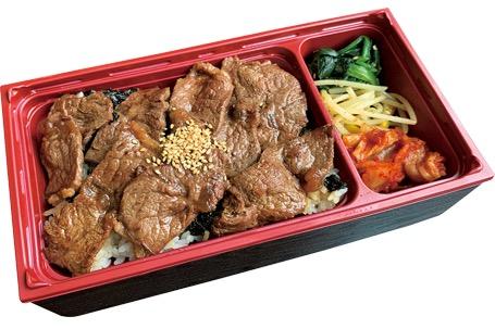 焼肉ロース弁当 890円(税抜)