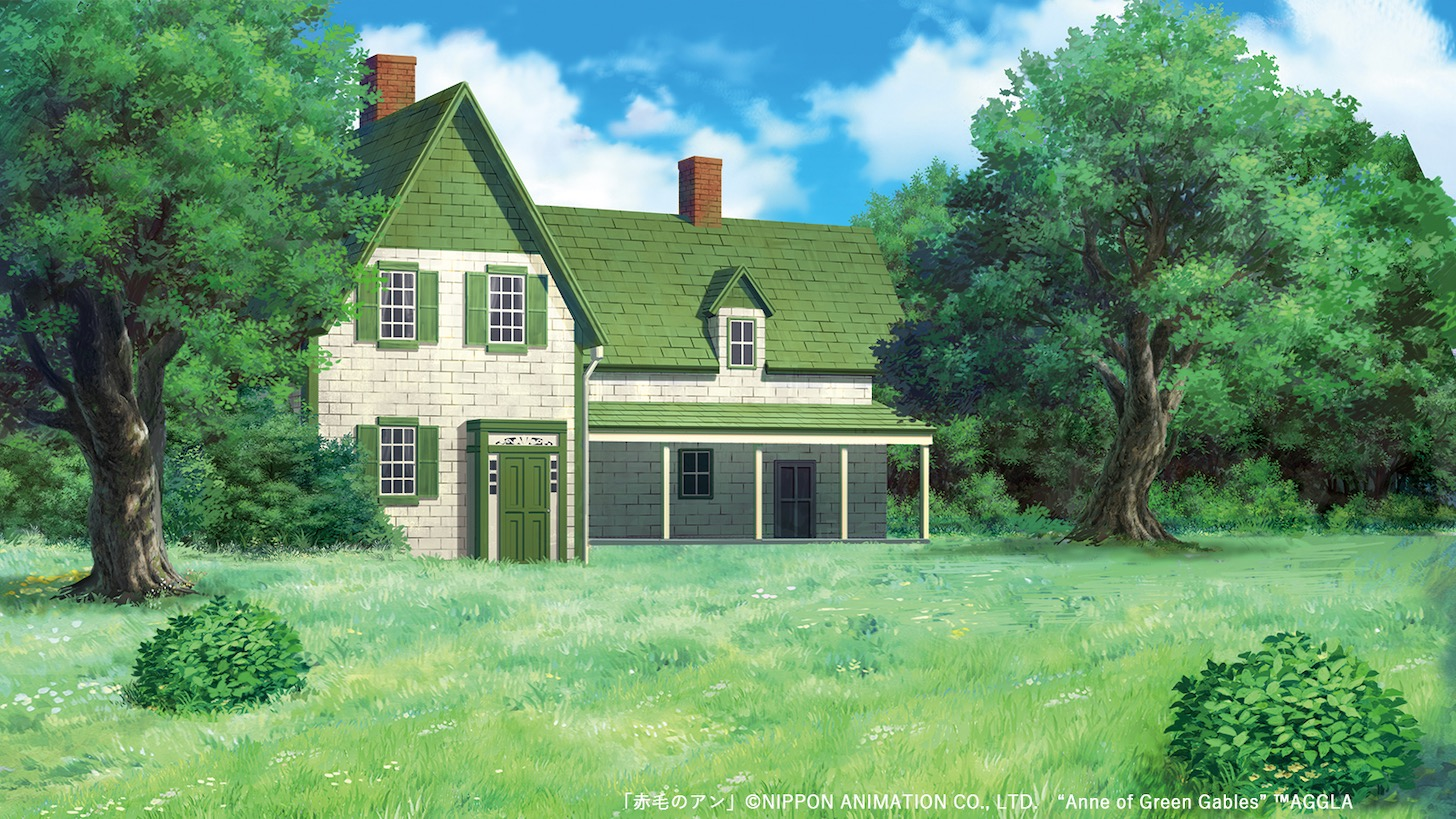 "「赤毛のアン」 © NIPPON ANIMATION CO., LTD. ""Anne of Green Gables"" ™AGGLA"