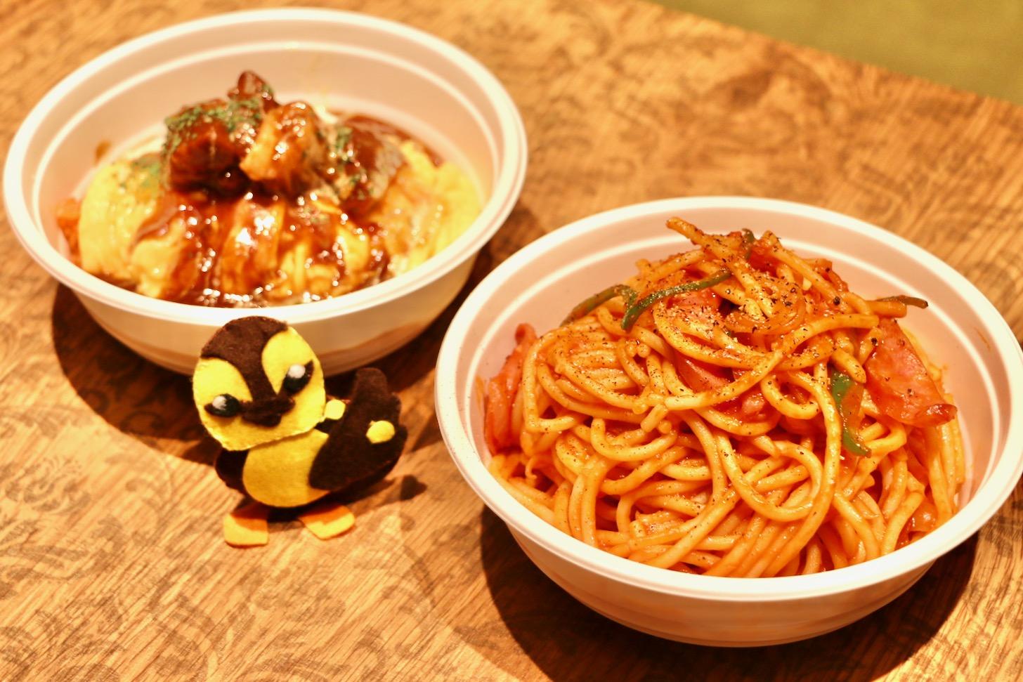 「Cafe&Dining Pecori 多摩センター店」さんで「スパゲッティーのパンチョ」さんとのコラボ商品をテイクアウト
