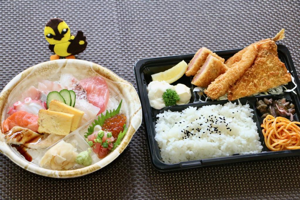 日本海庄や 多摩センター店で人気No.1の海鮮丼をテイクアウト