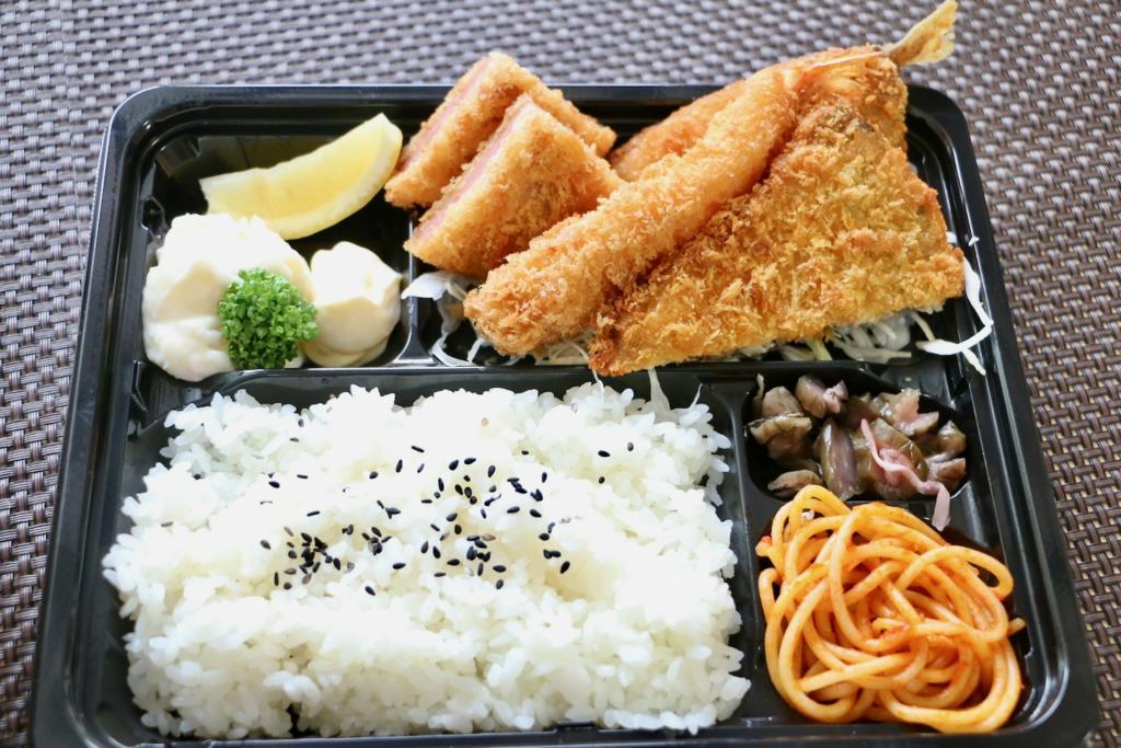 日本海庄や ミックスフライ弁当