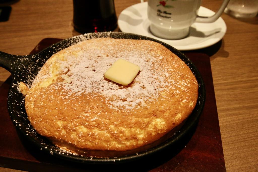 ドトール珈琲店 多摩センター店のパンケーキ