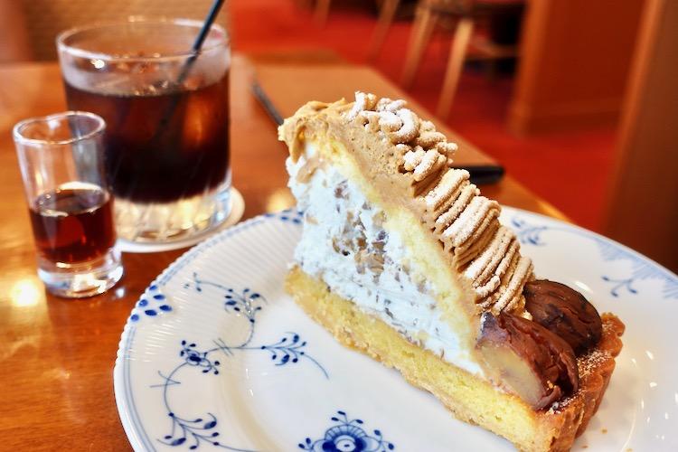 椿屋カフェ聖蹟桜ヶ丘店 渋皮モンブラン