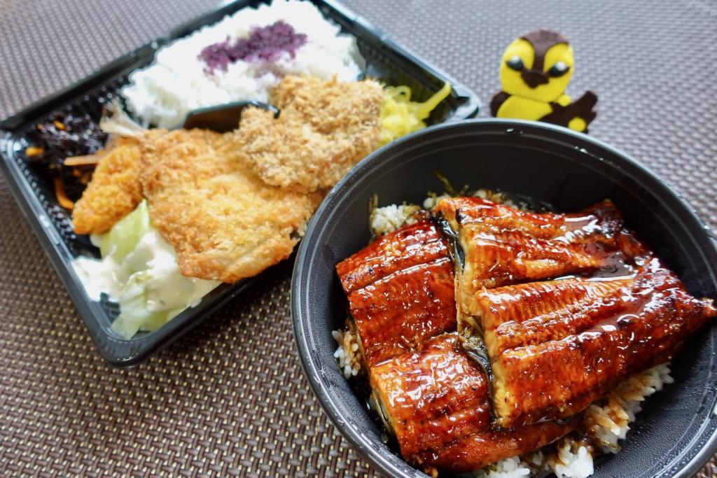 きちんと 聖蹟桜ヶ丘店で鰻丼ダブル盛りをテイクアウト
