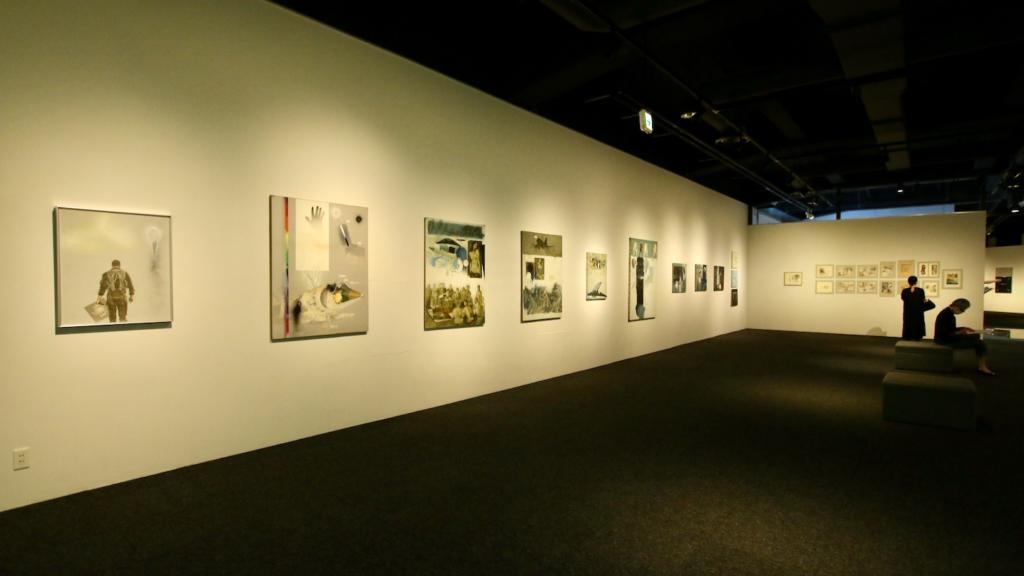 A室は1970年代〜1980年代の作品が展示