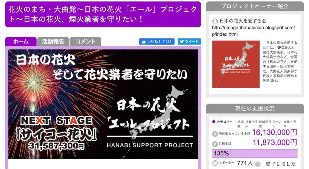 クラウドファンディングサイト「FAN AKITA (ファンあきた)」