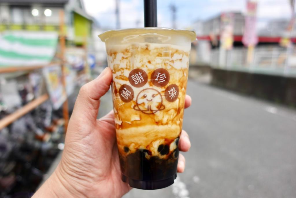 謝謝珍珠(シェイシェイパール)京王堀之内店で人気の黒糖タピオカミルク