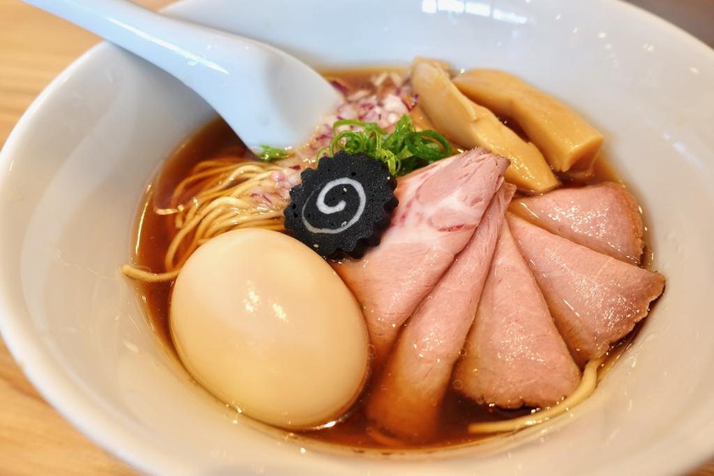 らぁ麺はやし田 多摩センター店の数量限定 特製のどぐろそば