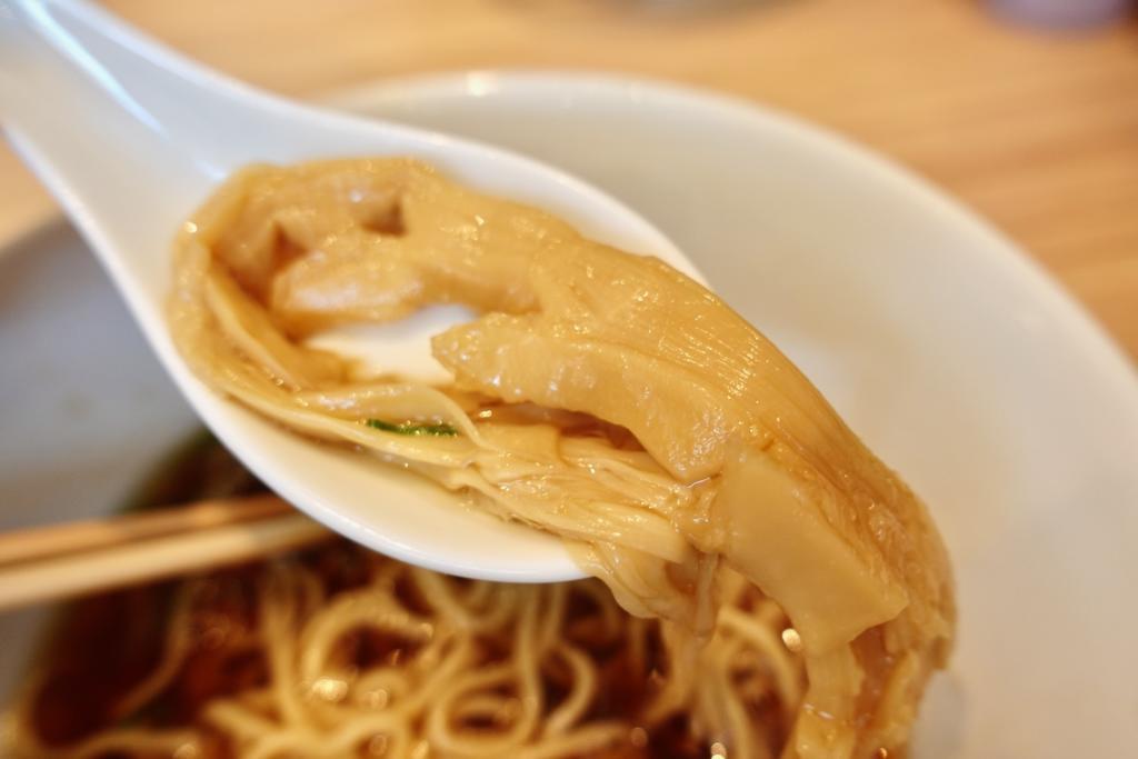 醤油らぁ麺 穂先メンマ