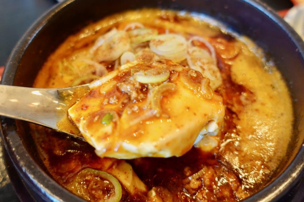 焼売のジョー 多摩センター店の麻婆豆腐定食
