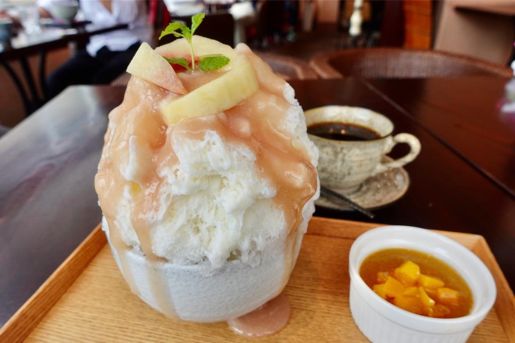 町田「茶房 中野屋」で日光の天然氷でつくるかき氷を食べてきた