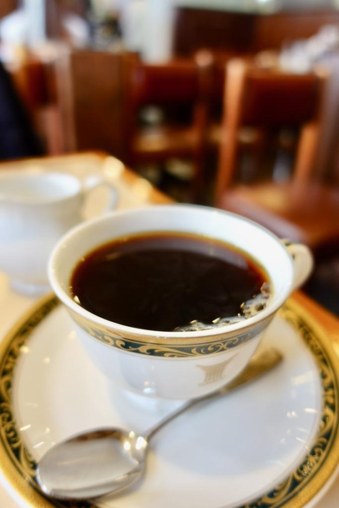 「サンコーヒー」のトラジャブレンド(酸味)