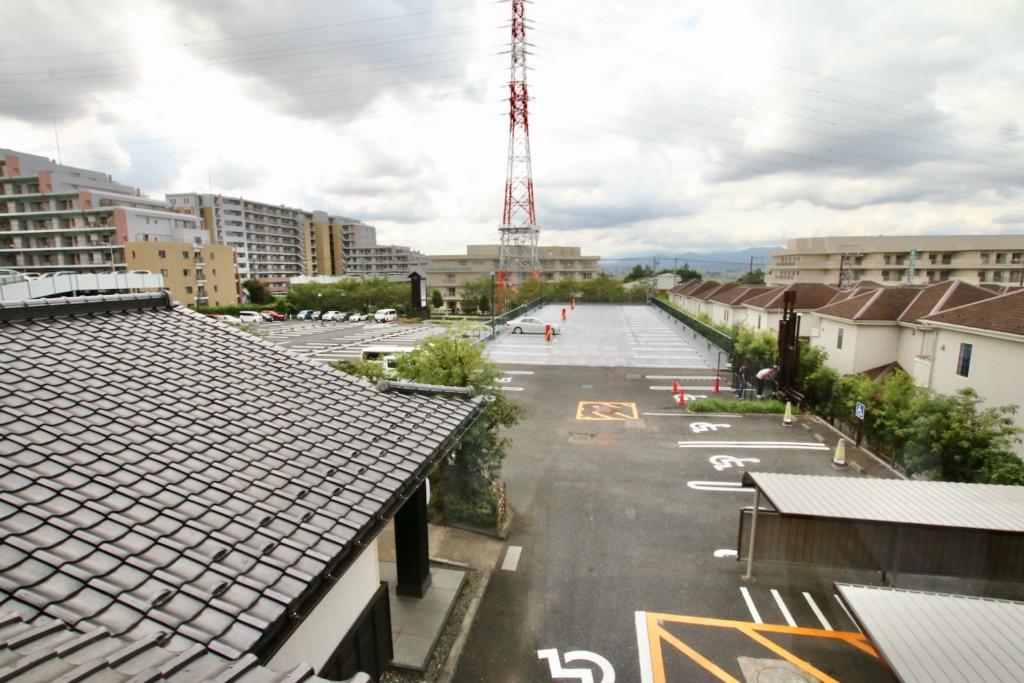 多摩境天然温泉「森乃彩」からの眺め