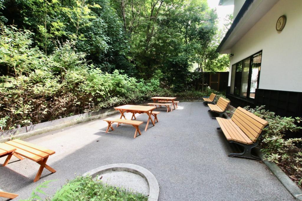 多摩境天然温泉「森乃彩」自然浴テラス