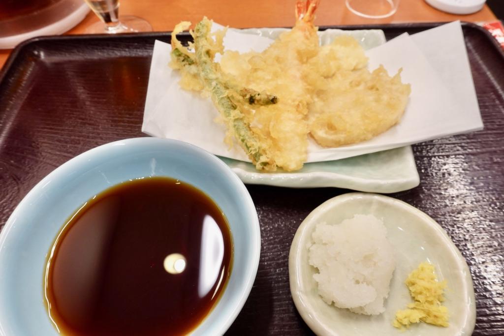 天ぷら&クラフトビールセット