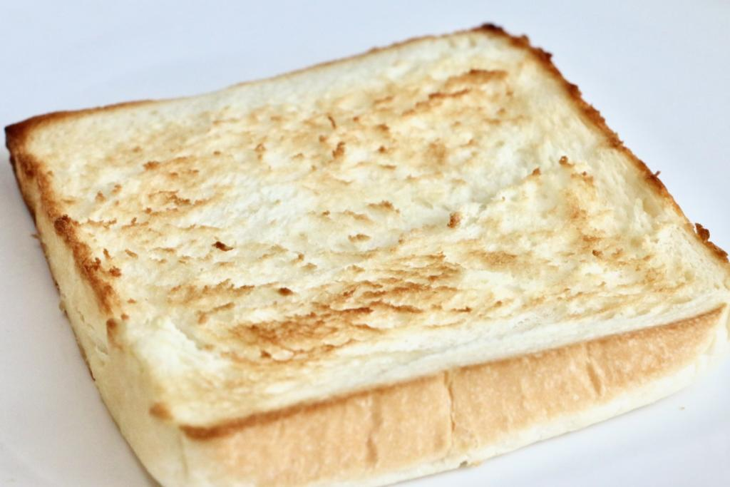 ラ・パンの高級クリーミー生食パンをトースト