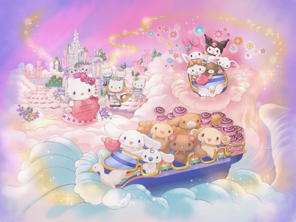 サンリオキャラクターボートライド