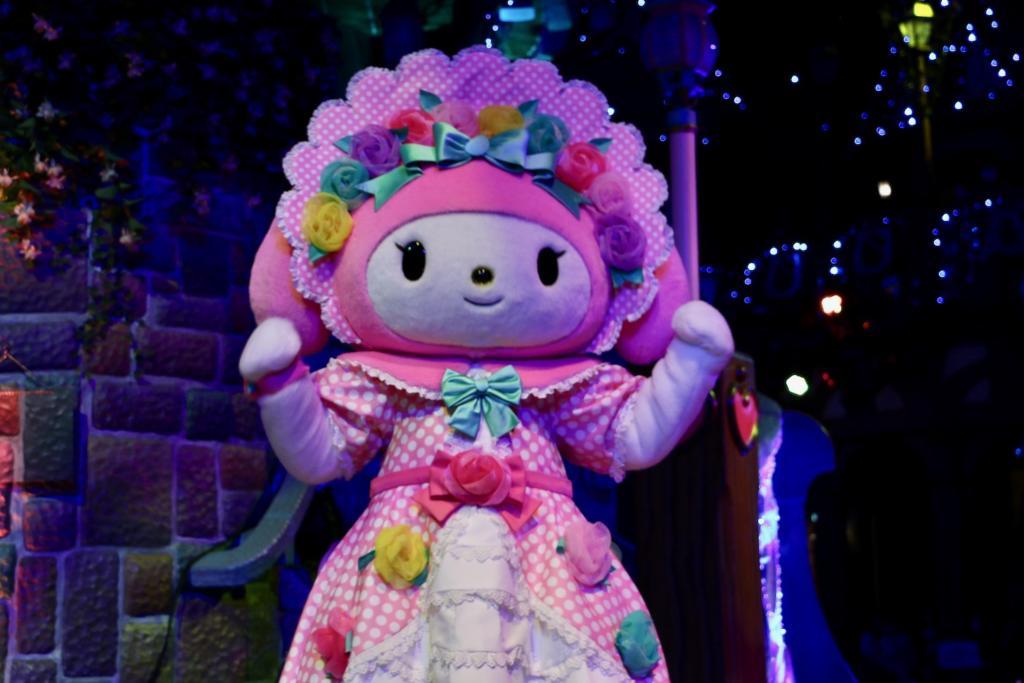 サンリオピューロランド「Hello, New World ~虹を、つなごう~」マイメロディ