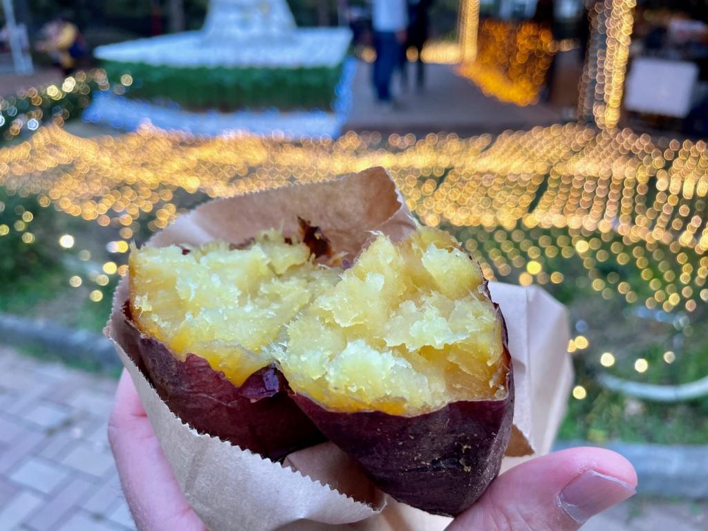 町田市で人気の焼芋屋さん「農遊人」さんでは、町田産の「べにはるか」