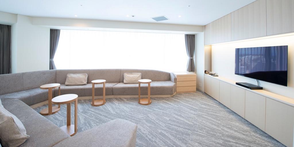デラックスシングルルームA 別室リビングスペース