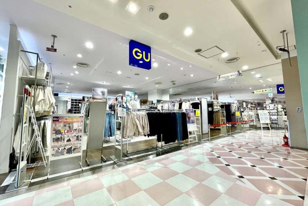 ジーユーGU 聖蹟桜ヶ丘OPA店