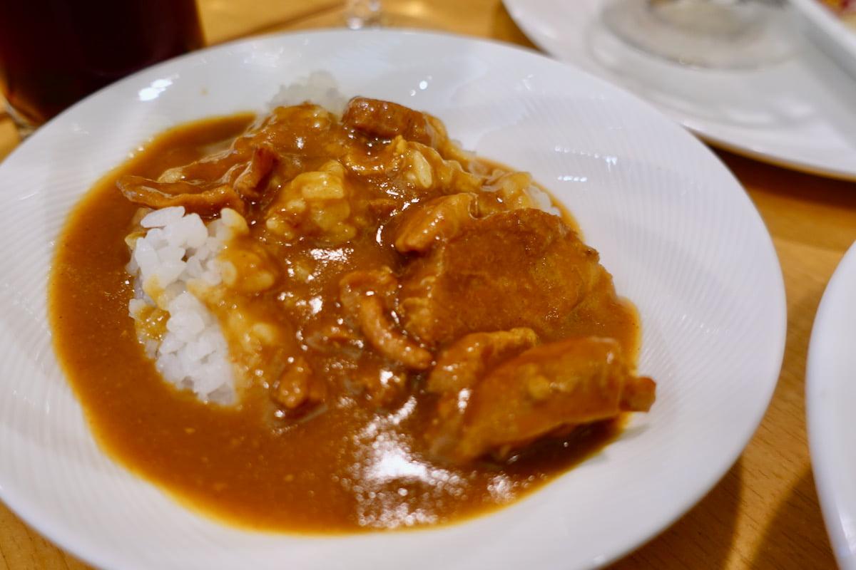京王プラザホテル特製カレー