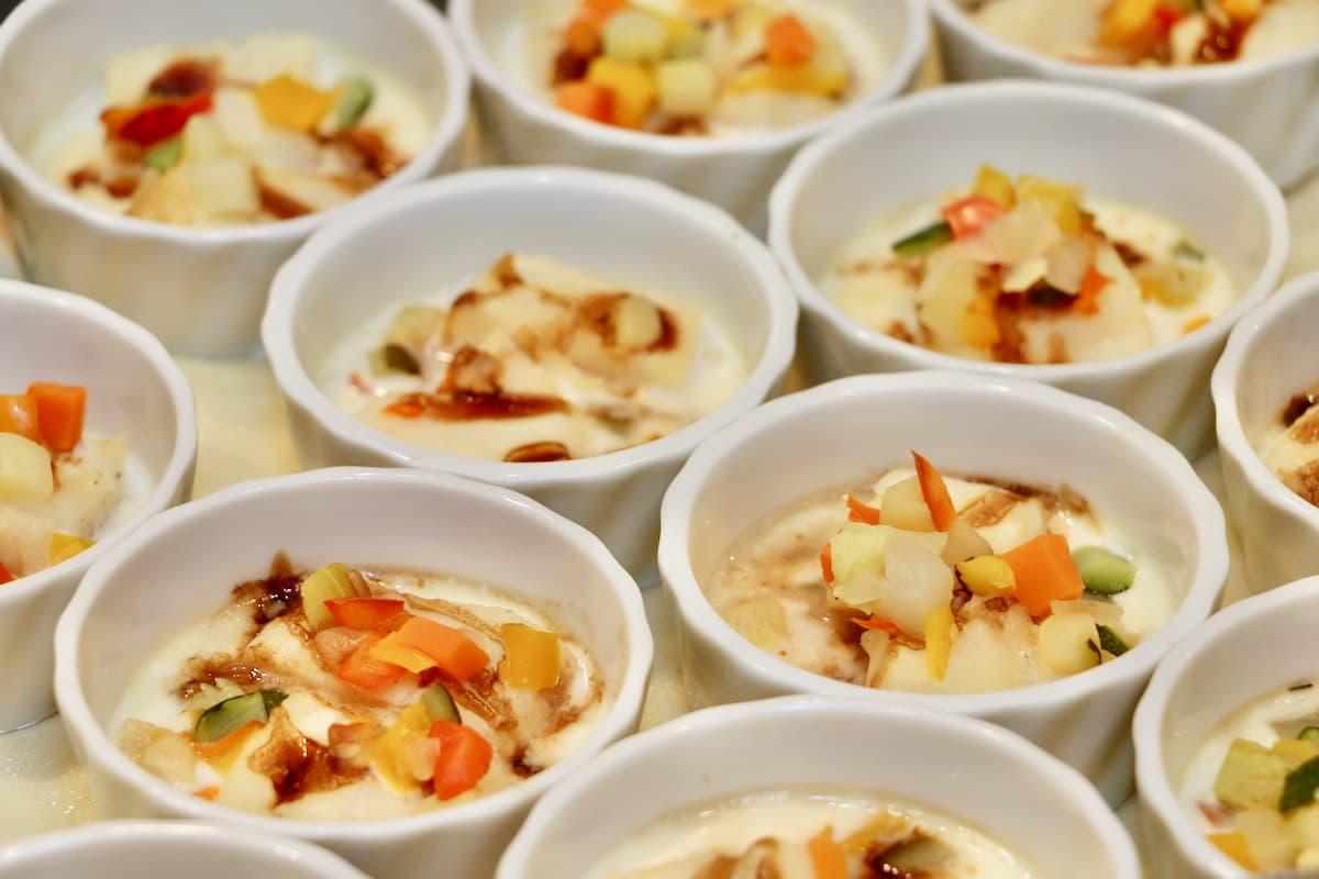 白身魚2種のソース