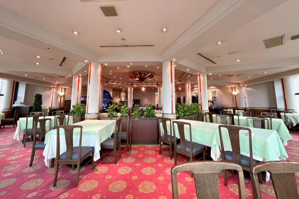 ホテルオークラレストラン多摩 チャイニーズレストラン 桃里の店内