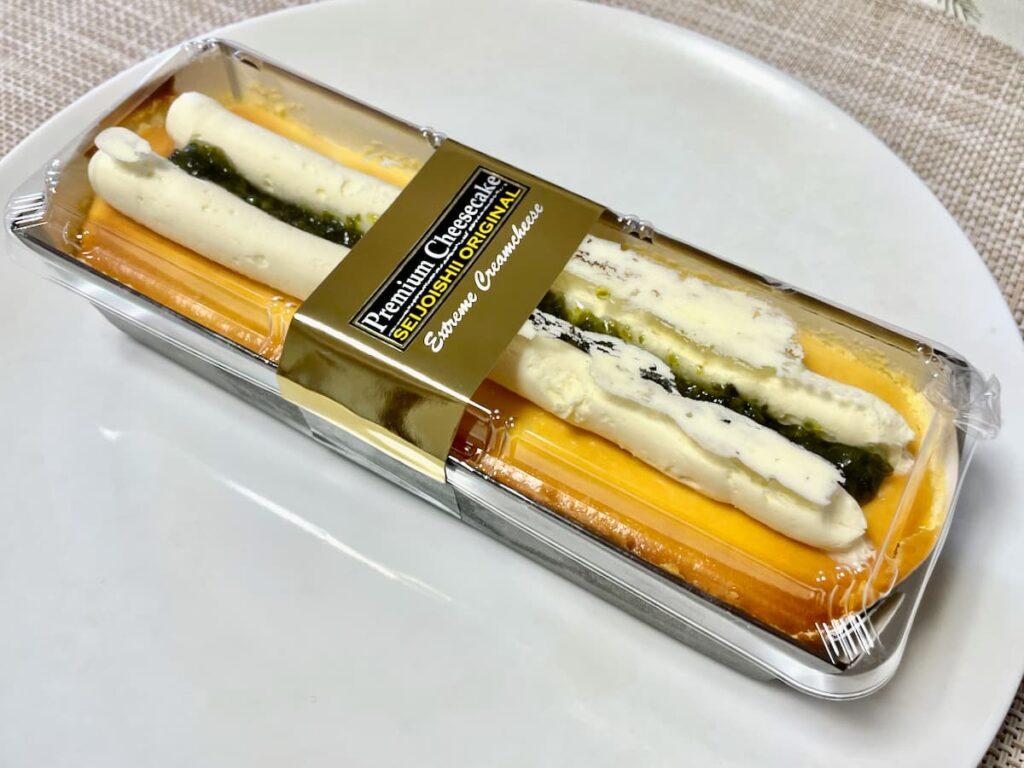 イタリア産シチリアレモンのチーズケーキ